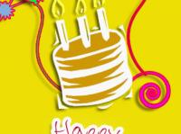 happy birthday cake e-cards