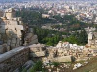 Temple of the hephaestosathens view for the acropolis Athens