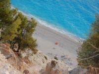 lefkas egremni beach top view1