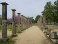 Ancient-Olympia-path