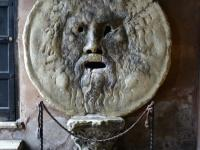Bocca della Verita roma  - The mouth of truth rome