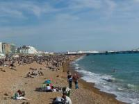 Brighton new pier Panorama