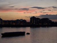 sunset over Thames