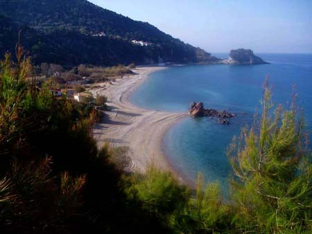Beach potami samos